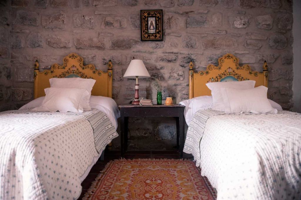 Yellow Beds Room